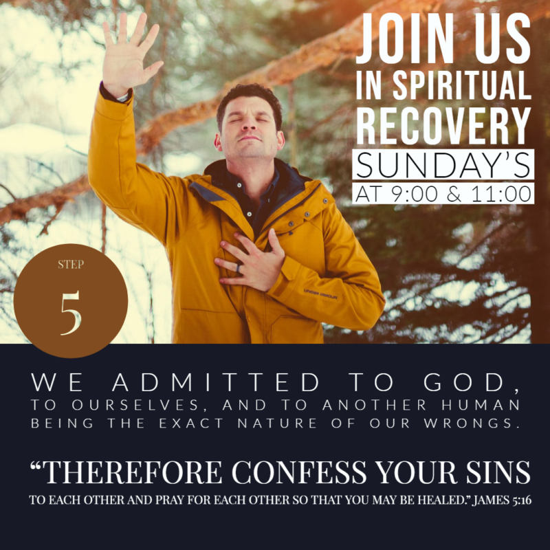 """""""Spiritual Recovery, Admitting Our Wrongs"""""""