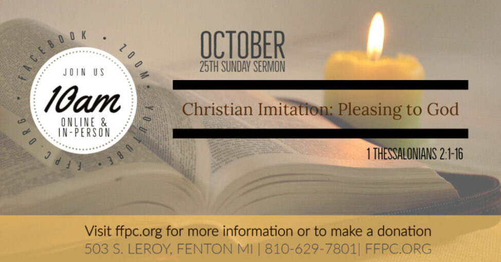 Christian Imitation: Pleasing to God